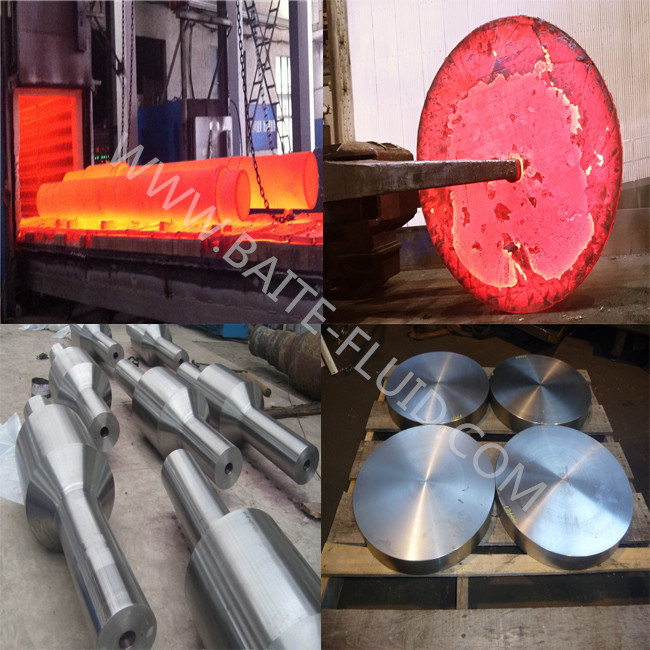 Cylinder Body Press Alloy Steel Forging Parts