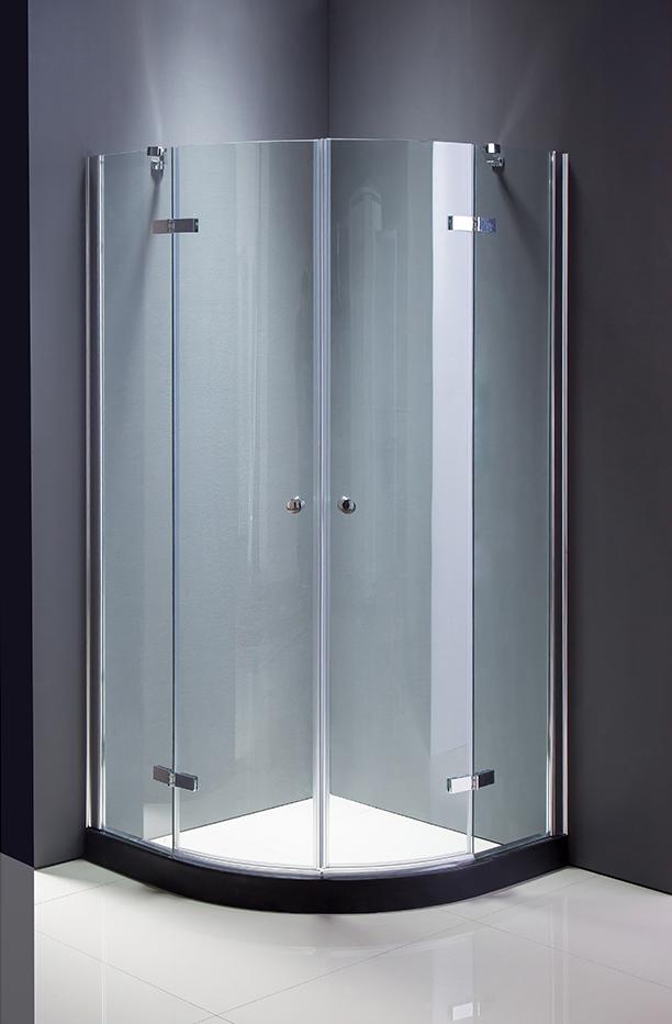 Bathroom Simple Glass Shower Doors