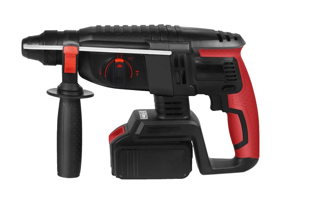 Cleantech 18-Volt Lithium Ion 3/4-in SDS-Plus Cordless Rotary Hammer with Hard Case