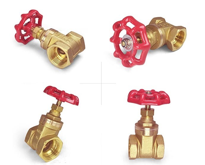 Female Thread Forging Brass Gate Valve