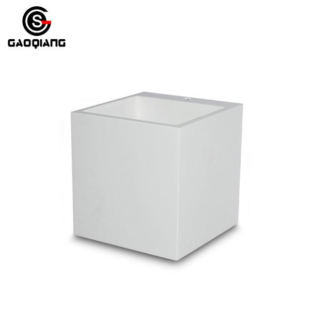 Modern Wall Lamp Decorative White Gypsum G9 Plaster Wall Light
