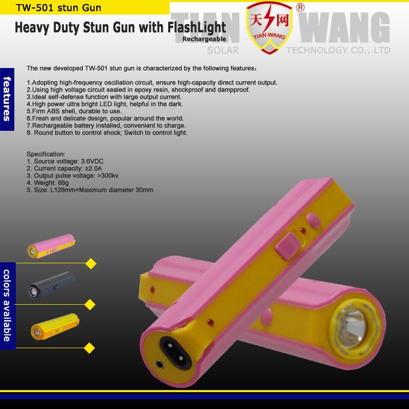 Best Quality New High Voltage Stun Guns with LED Flashlight