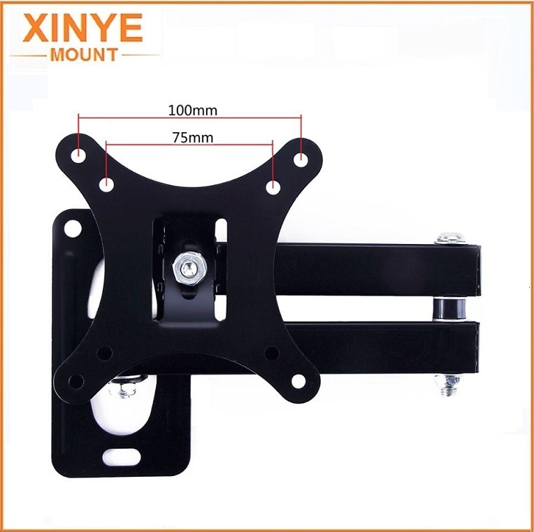 LCD Wall Mount Full Motion TV Bracket for 10-26 Inch