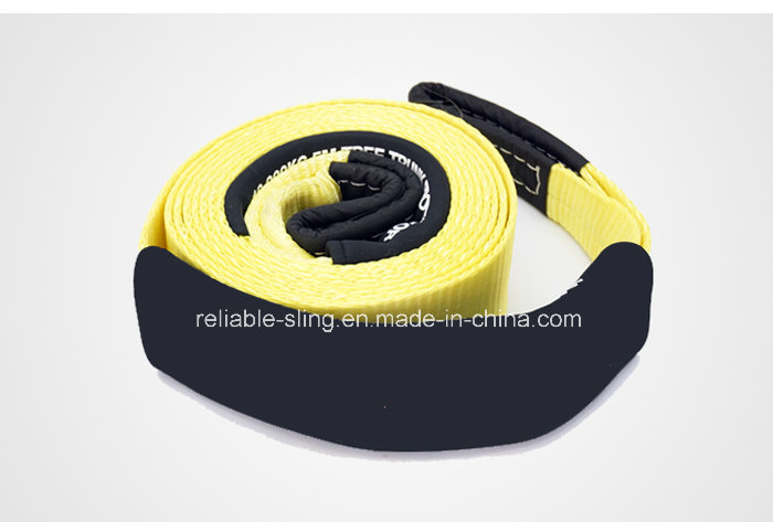 Auto Car Exterior Accessory Towing Rope Strap with Eyes