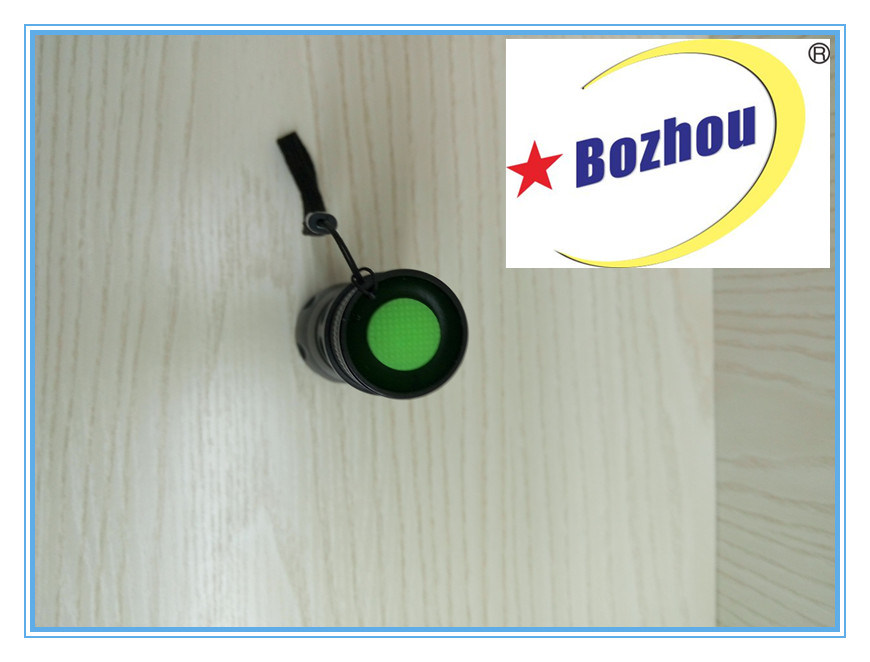 Zoom Tactical Torch Bright Rechargeable Flahslight