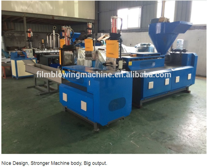 Hot Sale High Speed Single Stage Recycling Extruder