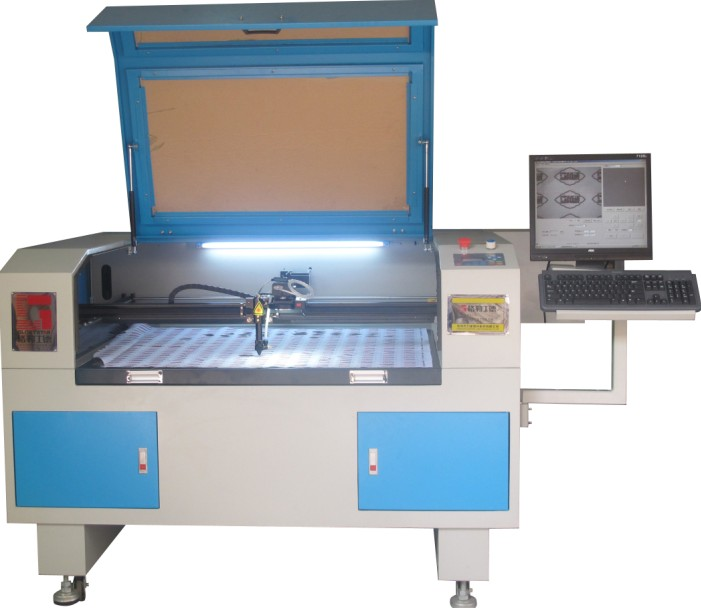 Video Camera Laser Cutting Machine/Machinery Gls-1080