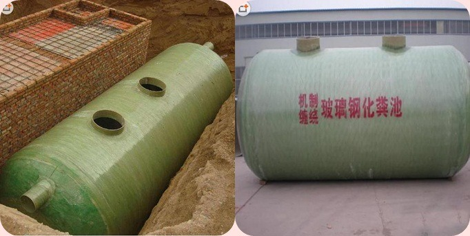 FRP GRP Chemical Liquid Storage Tank Septic Tank Auto Filter