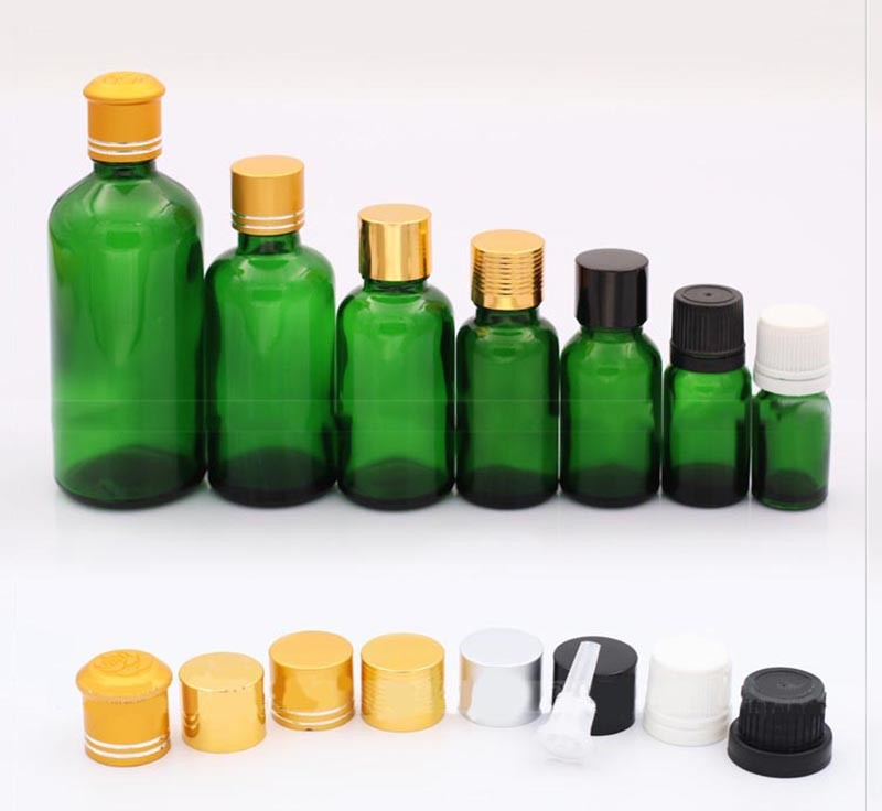 Green Color Dropper Bottle 30ml (NBG04)