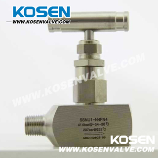 High Pressure Needle Valve (Male and Female End)