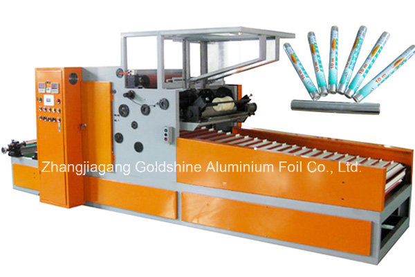 Electric Motor Rewinding Machine for Cling Film and Aluminum Foil Roll
