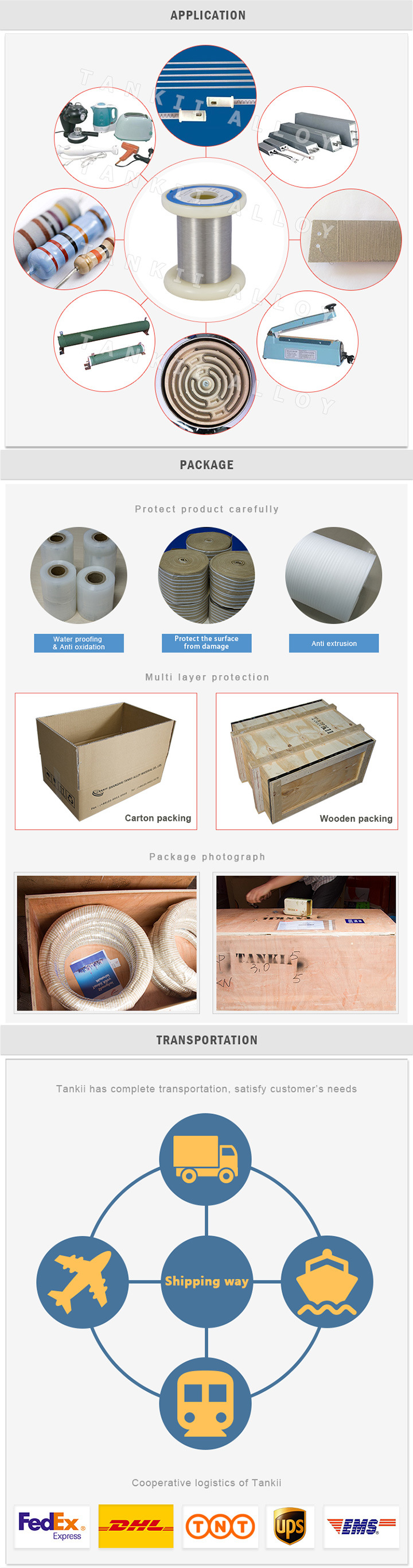 Copper Nickel Alloy Monel400 wire for Water Tank