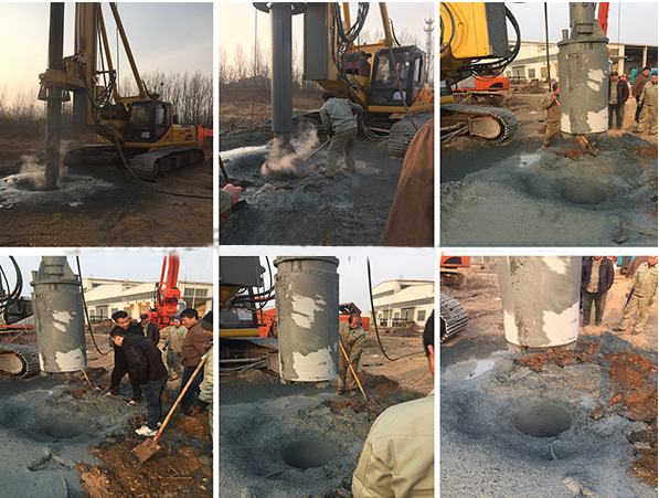 Hf128A Full Hydraulic Rotary Drilling Machine, Pile Driver, Piling Equipment