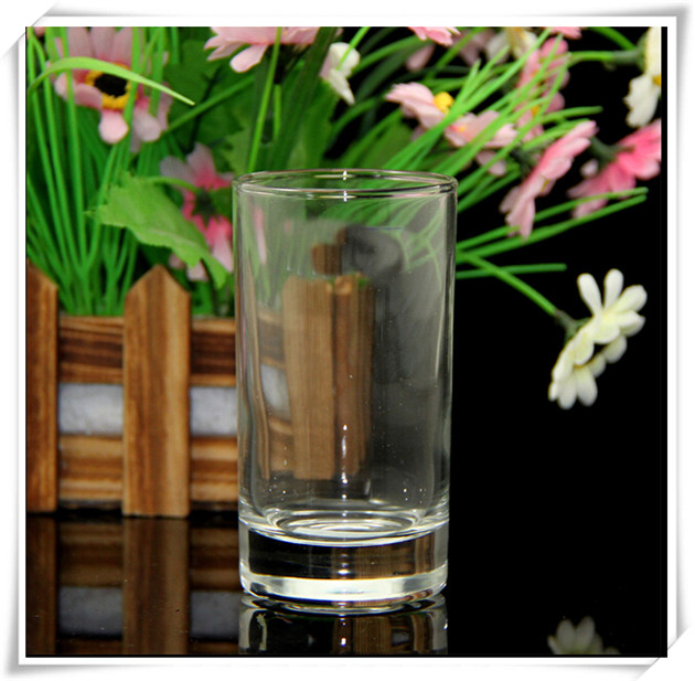 250ml Promotional Transparent Glass Beer Juice Wine Cup