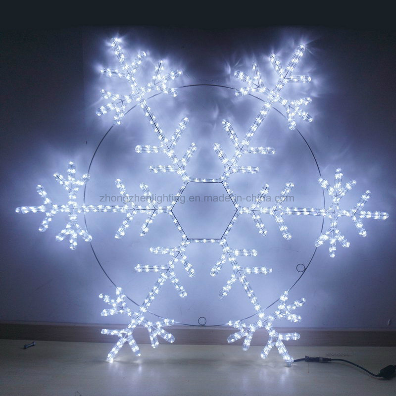 13mm Round 2 Wire LED Rope Light for Outdoor Decoration