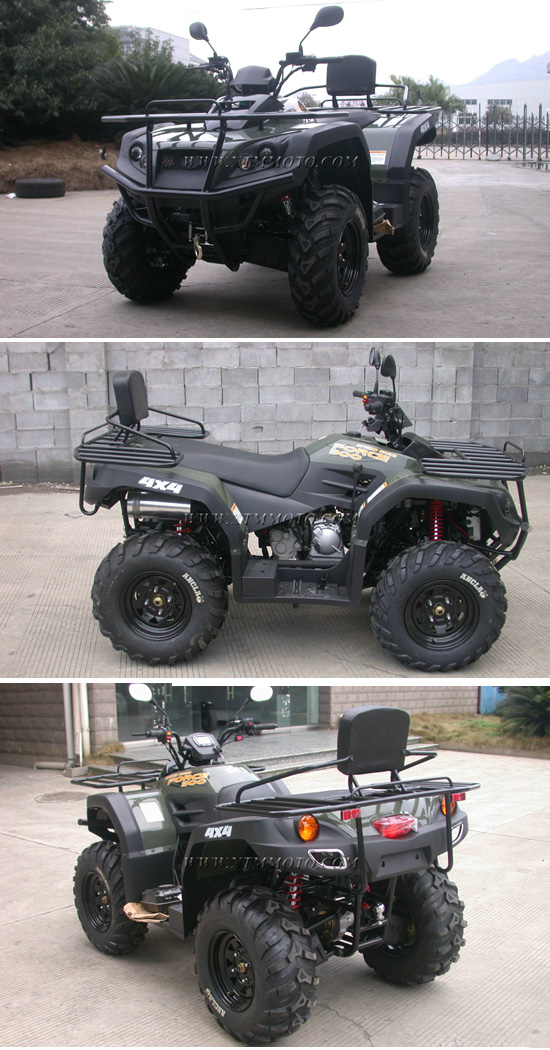4X4 ATV Motorcycle 300cc Quad 4 Wheeler ATV for Adults