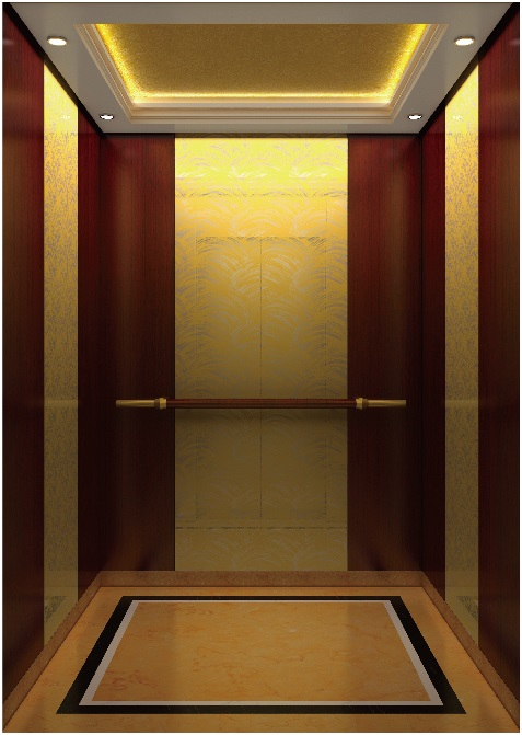 Passenger Elevator Lift High Quality Mirror Etched Aksen Ty-K119