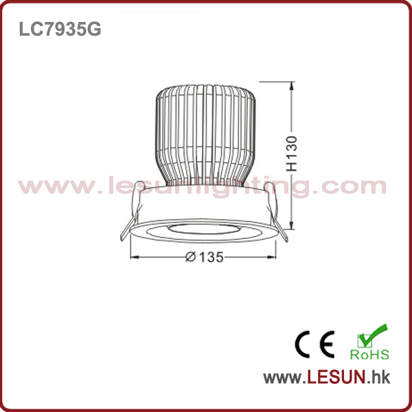 Hot Sales 32 W COB LED Ceiling Light LC7935g