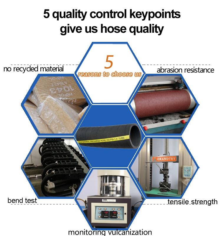 Realiable Manufacturer of Bulk Material S/D Hose