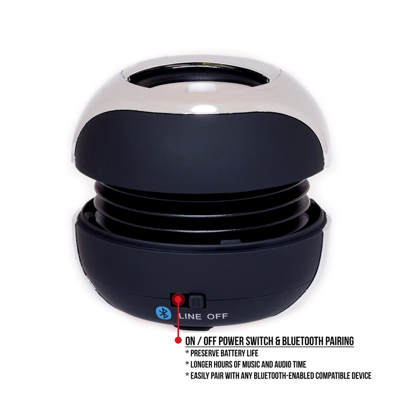 Music Player Active Wireless Loudspeaker for Outdoor