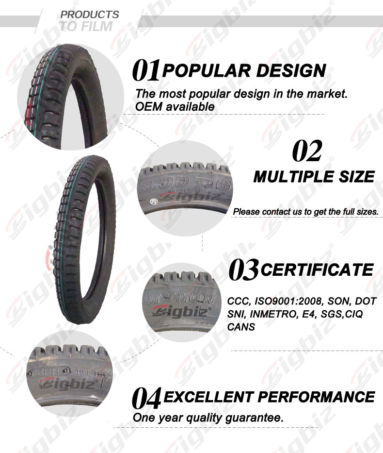 High Quality Colored Pneumatic Scooter Tube Tire (4.00-8)