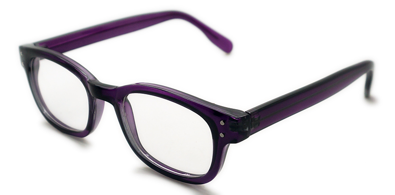 Unisex Acetate Reading Glasses with Metal Inside (WRP508320)