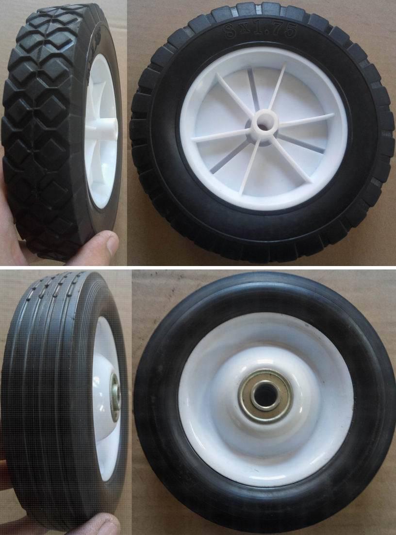 Us Market 2.50-4 Solid Rubber Caster Wheel