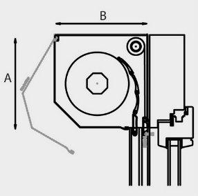 Foncci Outbox Metallic Aluminium Roller Shutter