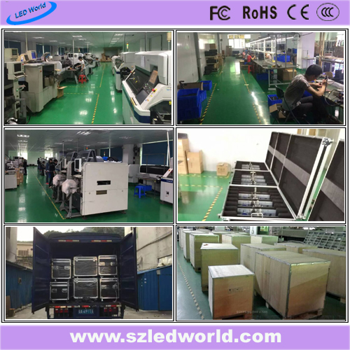 SMD3535 P10 Outdoor Fixed Full Color LED Display Panel Board Screen Factory Advertising