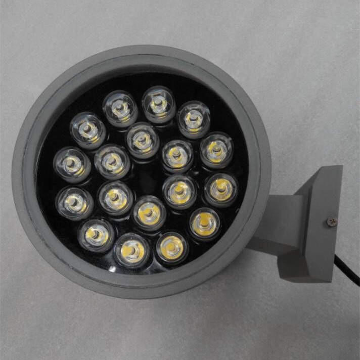 LED Outdoor Wall Light with Double Heads