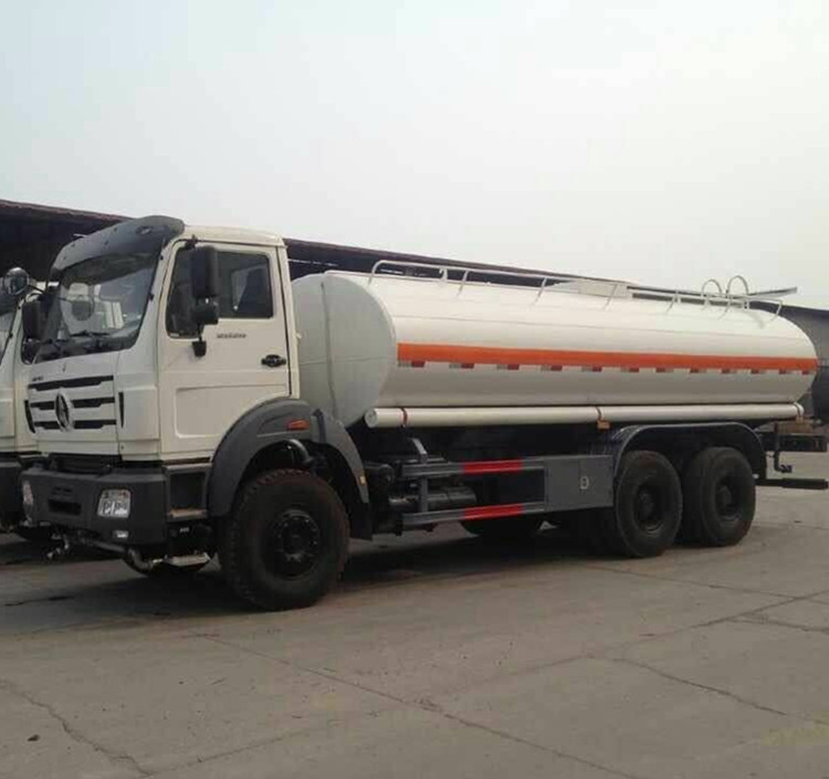 8000gallon 20000L 20m3 Beiben/North Benz Fuel Tank Truck Oil Tank Truck