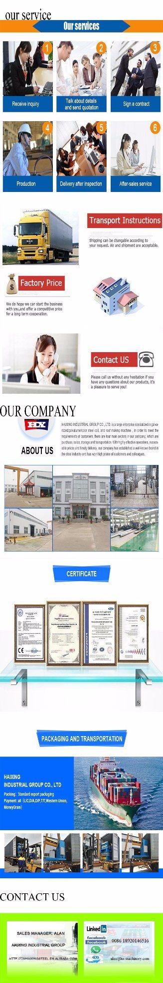 Popular Floor Deck Building Material Tile Making Machinery