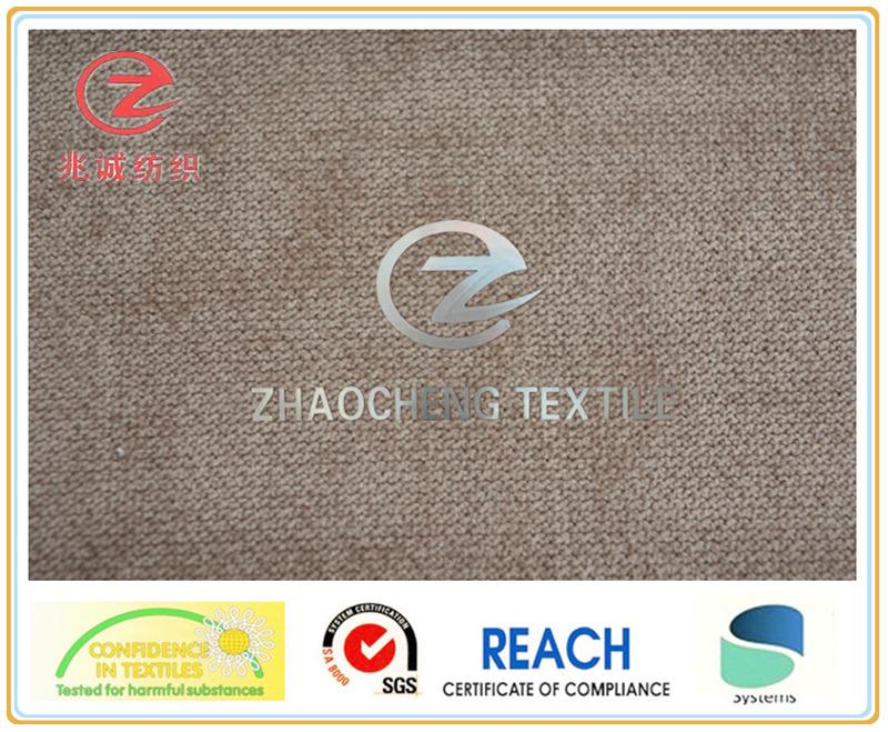 32W Poly/Nylon Bonded Corduroy Fabric for Sofa Use (ZCCF055)