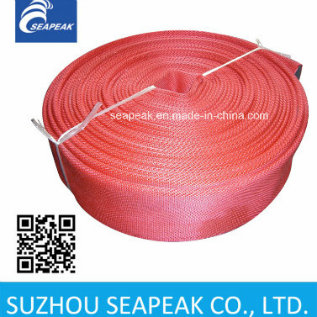 Fire Hose with Red Jacket