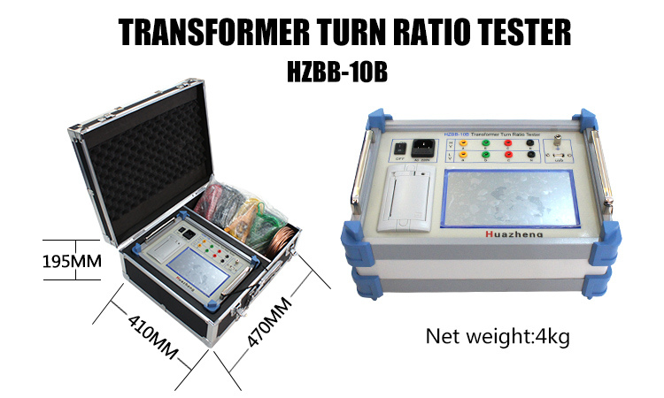 Low Cost Price 0.8-20000 Auto Digital TTR Meter Transformer Turns Ratio Tester