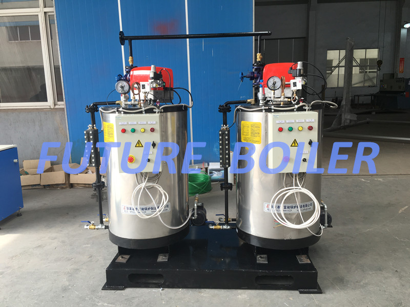 200kg/H Vertical Watertube Oil (Gas) Fired Steam Boiler with Moderate Price