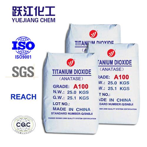 Anatase Titanium Dioxide With High Whiteness (A100)