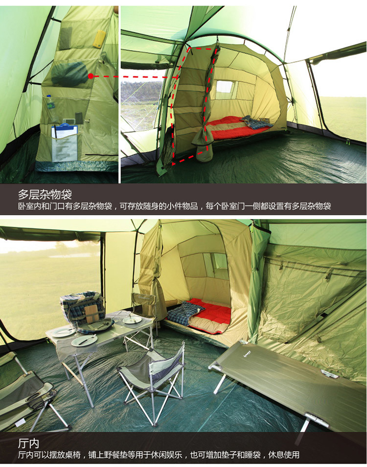 Military Large Sports Multi-Functional Outdoor Camping Travelling Tactical Bivvy Tent
