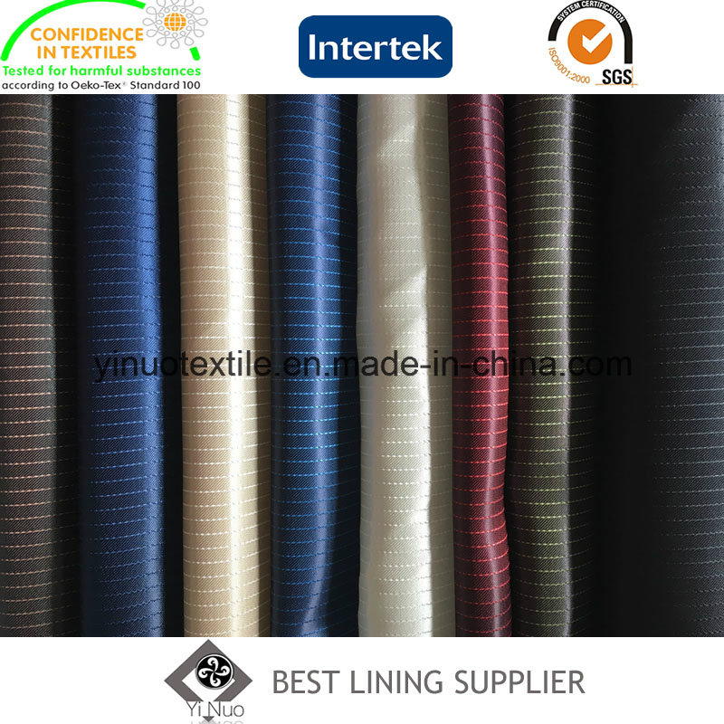 Hot Sale 100% Polyester Satin Lining for Men's Suit Jacket