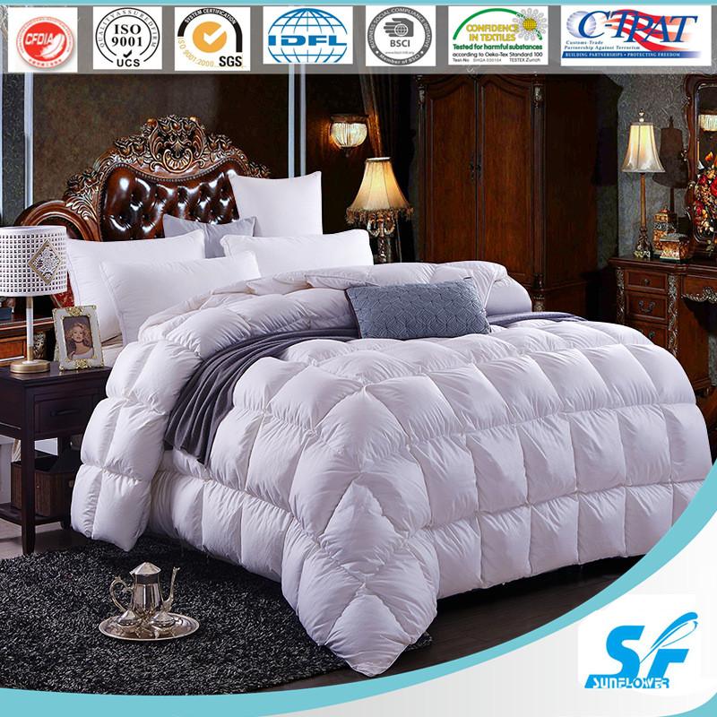 100% White Goose Down Comforter