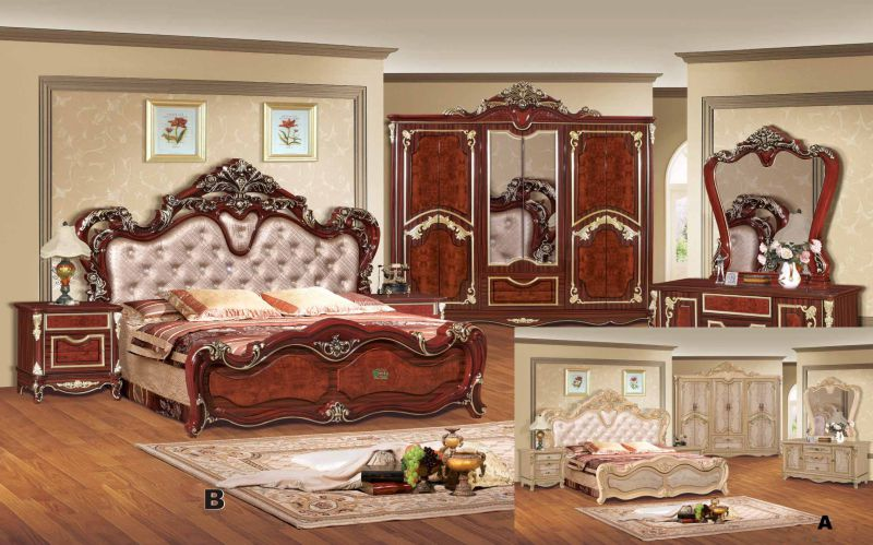 Bedroom Furniture Bed / Home Furniture / Bed (W806A)