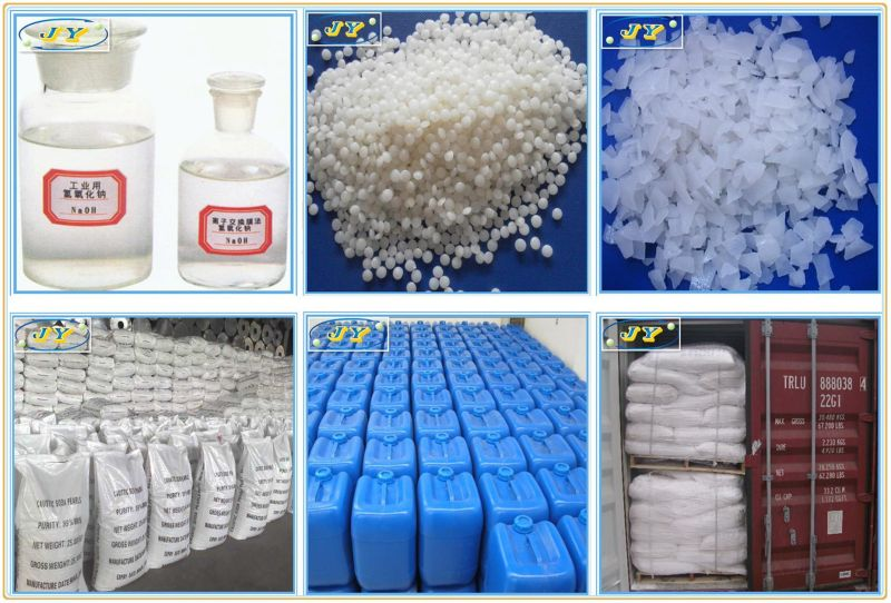 Industrial Grade Sodium Hydroxide / Caustic Soda 99%