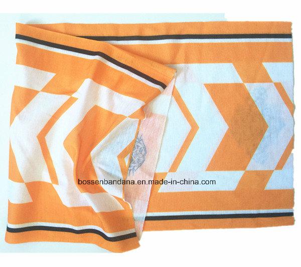 OEM Produce Customized Logo Printed Multifunctional Magic Seamless Tubular Scarf