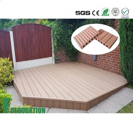 Waterproof Wood Plastic Composite Decking Floor