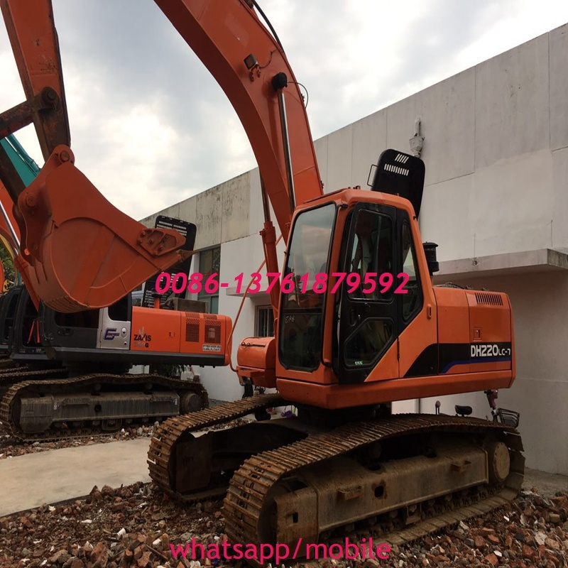 Top Quality Electric Drive Doosan Hydraulic transmission Dh220 Excavator