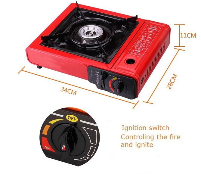 High Quality Single Burner Portable Camping Gas Cooker