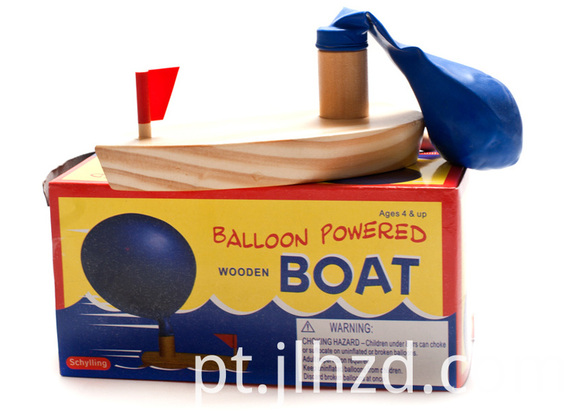 Ballon Power Boat