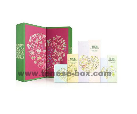 High End Custom Paper Folding Packaging Gift Box