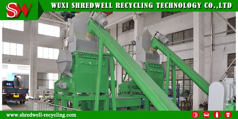 135kw Rubber Granulator for Making Rubber Crumb