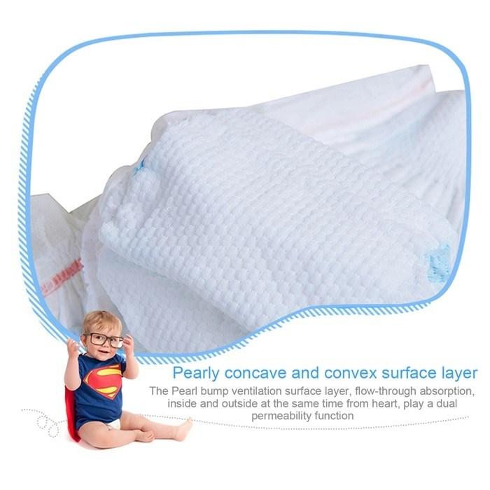 Produits de soins pour bébés en coton complet Couche pour bébé jetable de taille M du fabricant chinois